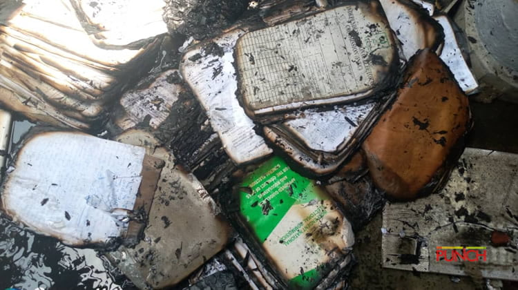 Fire Razed Public Properties And Some Equipment – INEC